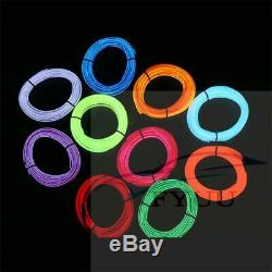 1 In 9 NO Threading Ambient Light Car Atmosphere Light Lamp APP Control 64Colors