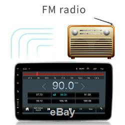 10.1 Car Multimedia Player 1DIN Android Stereo Rotation Screen GPS WIFI FM Radio