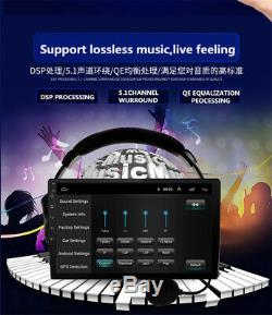 10.1 Double 2 Din Android 8.1 Rotatable Car Stereo Radio GPS SAT WiFi OBD 1+16G
