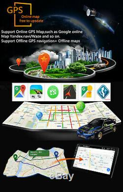10.1In 1Din Android 8.1 Car Stereo GPS Radio Wifi Bluetooth Player+Rear Camera