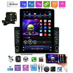 10.1In Android8.1 Bluetooth Car MP5 Player Stereo Radio GPS Sat Navi+Rear Camera