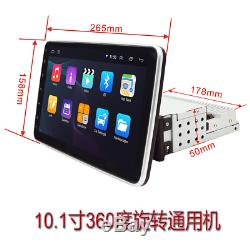 10.1in 1Din 1G+16G GPS Navigation WiFi FM Radio Car Stereo MP5 Player Rotatable
