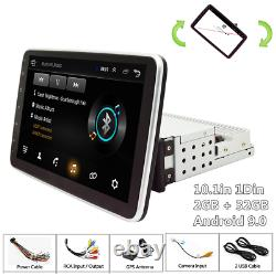 10.1in 1Din Android 9.0 2+32GB Car FM Stereo Radio GPS Navigation WIFI Player