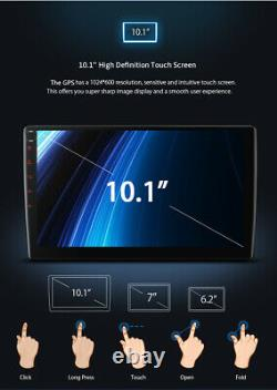 10.1in 2.5D Touch Screen Android8.1 Car Headrest Monitor Stereo Radio MP5 Player