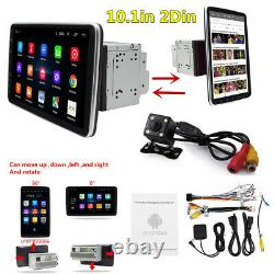 10.1in 2Din Car Stereo Radio FM WiFi MP5 Player Android 9.1 GPS Sat Nav Camera