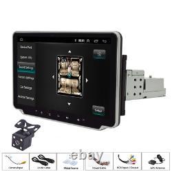10.1in Single 1Din Car MP5 Player Head Unit Stereo FM Radio BT FM GPS WIFI + Cam