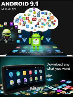 10.25in 1Din Android 9.1 GPS SAT NAV Car Stereo Radio Bluetooth FM WiFi Player