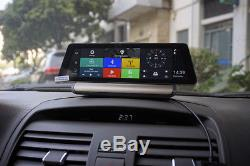 10 4G FHD Touch Car DVR Recorder+Rearview Camera GPS ADAS Android 5.1 BT WIFI