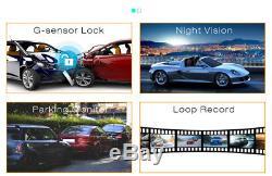 10-Inch WIFI Bluetooth FM ADAS Android 5.1 IPS 4G ADAS Dashboard Recorder GPS