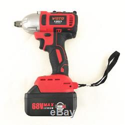 100-240V 360 (n. M) 7800Ah Rechargeable Brushless Electric Wrench Impact wrench