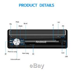 1080P 7 Android 6.0 1 DIN Car Video Player Radio Stereo Head Unit GPS Nav WIFI