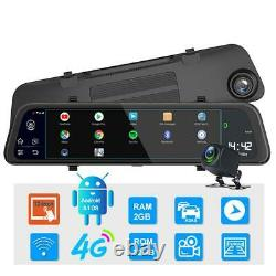 11.66in 32G Car 4G Android 8.1 Back Mirror DVR Dash Cam GPS WIFI Night Vision