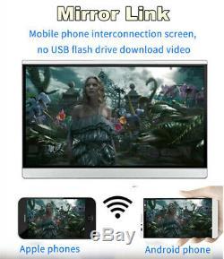 12.5 Android 7.1 WIFI / Bluetooth Headrest Rear Seat Monitors HDMI 2GB + 16GB