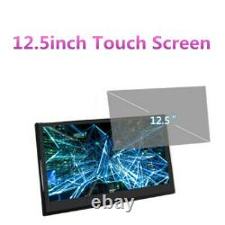 12.5 In Android Car Headrest Monitor HD Video Touch Screen WIFI Bluetooth Player