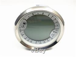 12V Boat Motorcycle 6 in 1 Gauge Meter GPS Speedometer Oil Pressure Voltmeter
