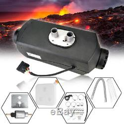 12V Universal 5KW Air diesel Heater For Cars Truck Motor-home Trailer LCD Switch
