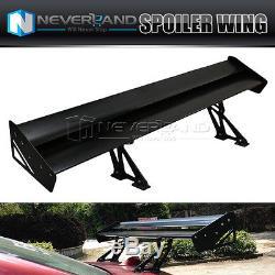 135cm Universal Adjustable Lightweight Double Deck Car Rear Wing Racing Spoiler