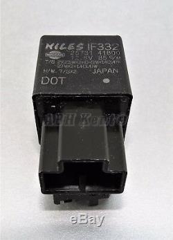 149-Genuine Nissan LDV (92-05) 3-Pin Black Flasher Relay 2573141B00 Niles IF332