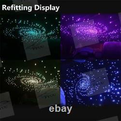16W TWINKLE RGBW Fiber Optic Star Meteor Ceiling Kit LED Light 500pcs Fibers APP