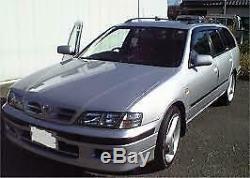 1995 2001 Jdm Nissan Camino Primera P11 G20 Silver Power Folding Side Mirror Oem