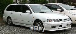 1995 2001 Nissan Camino Primera P11 G20 Blk Leather Steering Wheel W Airbag Oem