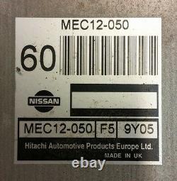 1999-2002 Nissan Primera P11 2.0-16v 103kw Sr20de Automat Ecu Set Mec12-050
