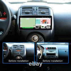 1Din 10.25in Android 9.1 Car Stereo Radio Bluetooth GPS WiFi FM MP5 Player + Cam