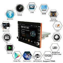 1Din 9in Car MP5 Player Android 8.1 GPS SAT NAV Bluetooth Wifi Stereo FM Radio