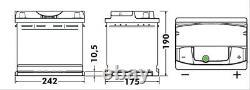 1x Exide Premium 64Ah 640CCA 12v Type 027 EA640 Car Battery 4 Year Warranty