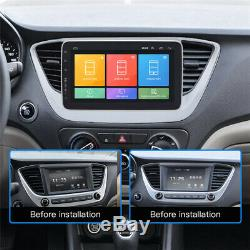 2+32G Car 9 1Din Android 8.1 Head Unit BT Stereo Radio MP5 Player GPS Navigator