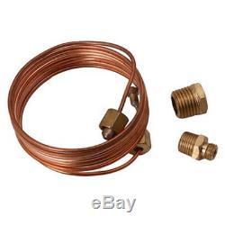 2 52mm Silver Faced Triple Gauge Set Water Temp, Oil Pressure, Ammeter Gauge Kit