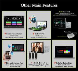 2 DIN Android 7.12 10.1 HP T3 Quad-Core A9 1G+16G Car Stereo Radio GPS Wifi DVD