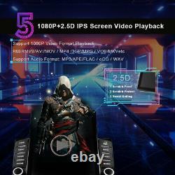 2 Din 9.5 inch Car Stereo Radio Apple Carplay Bluetooth FM AUX USB MP5 Player