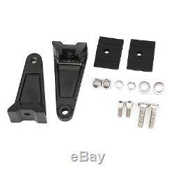 2× LED Work Light Bar Car Side Mounting Bracket Holder For Offroad Aluminum New