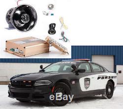 200W 12V Police Fire Siren Warning Alarm Sound Loud Horn for Car Auto PA Speaker