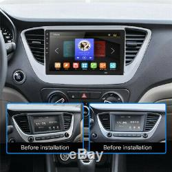 2DIN Rotatable 10.1 4G Full Netcom Android 8.1 HD 1GB+16GB Car Stereo Radio