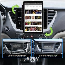 2Din 10.1in Car Stereo Radio MP5 Player Android 9.1 GPS SAT NAV WiFi FM BT +Cam