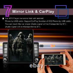 2Din 9.5inch Screen Apple Carplay Car Stereo Radio GPS Sat Nav WIFI BT FM Mp5