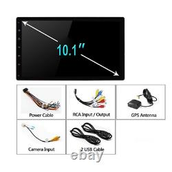 2Din Car MP5 Player Stereo Radio GPS WIFI 10.1 Android 9.1 With Removable Screen