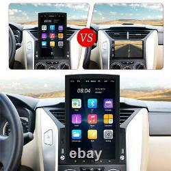 2Din Vertical 9.7in Android 10.0 Car Stereo Radio GPS MP5 Player WiFi +Rear Cam