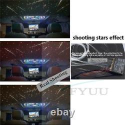 370x Car Roof Starry Sky Ceiling Light APP 50x Optic Shooting Stars RF Remote