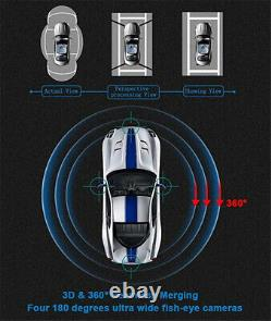 3D Bird View 360° Panorama 4 Camera Parking System For Car DVR Video Recorder