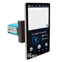 4+64GB Android 9.0 1Din 10.1in Rotatable Screen Car Stereo GPS Radio MP5 Player
