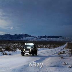 42 CREE Curved LED Light Bar 240W Combo Beam Truck ATV 4x4 Offroad UTV Jeep UTE
