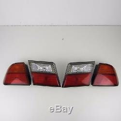 4X Genuine Nissan Primera P11 Left Right Rear Tail Light Set Side Lamp
