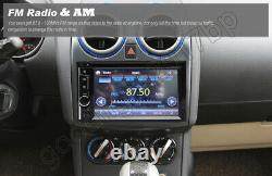 6.2'' Car Double Din In Dash DVD CD Player Radio Stereo Mirror-Link-GPS SAT NAV