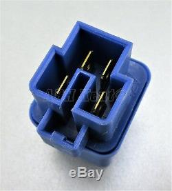 699-Genuine Nissan (1990-2003) 4-Pin Multi-Use Blue Relay 25230-C9980 12V Japan