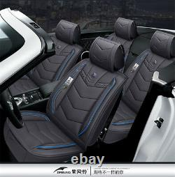6D PU Leather Gray Car Seat Covers Cars Cushion For Auto Accessories Car-Styling