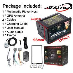 7 2DIN Android System APP Car Radio GPS Navigation Audio Stereo MP5 Player