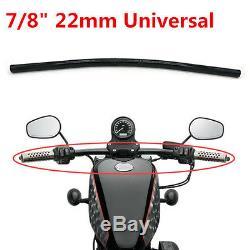 7/8 Drag Style Straight Bar Handlebar for Custom Motorcycle Chopper Bobber